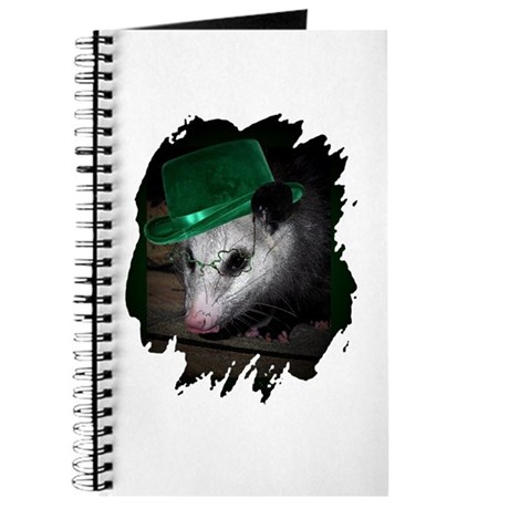 St. Patrick's Day Possum Journal