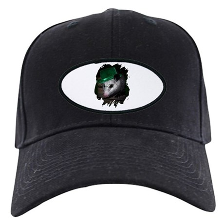St. Patrick's Day Possum Black Cap