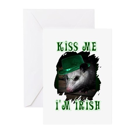 Kiss Me Possum Greeting Cards (Pk of 10)
