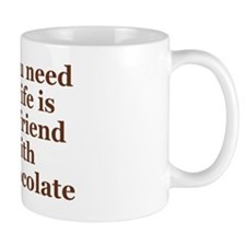 All you need in life is a friend with c Mug