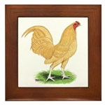Buff OE Cock Framed Tile
