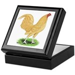 Buff OE Cock Keepsake Box
