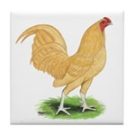 Buff OE Cock Tile Coaster