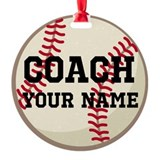 Baseball coach Ornaments
