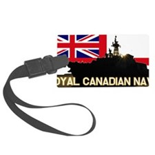 Royal Canadian Navy Luggage Tag
