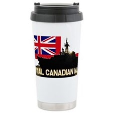 Royal Canadian Navy Ceramic Travel Mug
