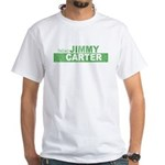 Re-Elect Jimmy Carter White T-Shirt