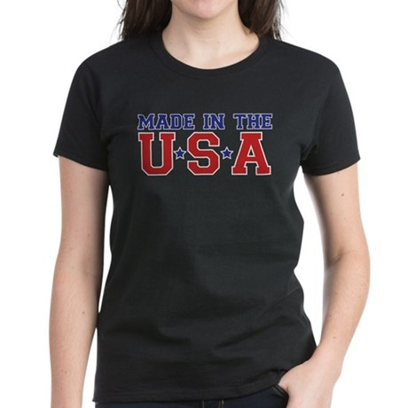MADE IN THE USA Women's Dark T-Shirt