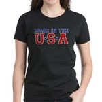 MADE IN THE USA Women's Dark T-Shirt