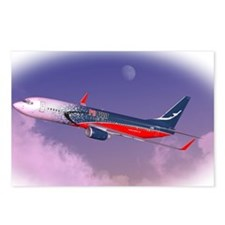 PC Pilot B737-800 Postcards (Package of 8)