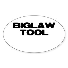 BIGLAW TOOL Oval Sticker