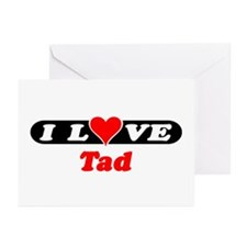 I Love Tad Greeting Cards (Pk of 10)