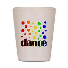 Small polka dots Shot Glass