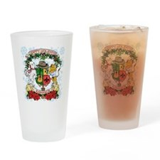 Holiday Kaniac Crest Drinking Glass