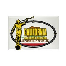 California San Diego LDS Mission  Rectangle Magnet