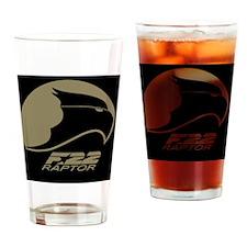 F-22 Raptor 2 Drinking Glass