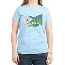 Djibouti flag fanatic T-Shirt