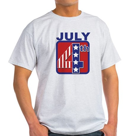 July 4th Light T-Shirt