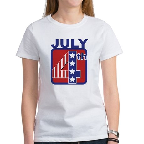 July 4th Women's T-Shirt