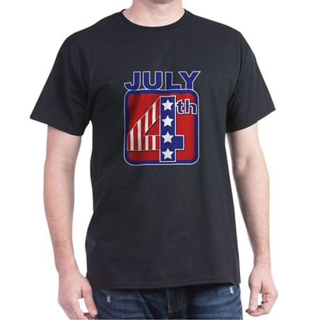 July 4th Dark T-Shirt