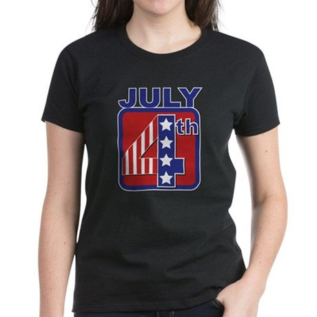 July 4th Women's Dark T-Shirt