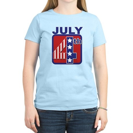 July 4th Women's Light T-Shirt