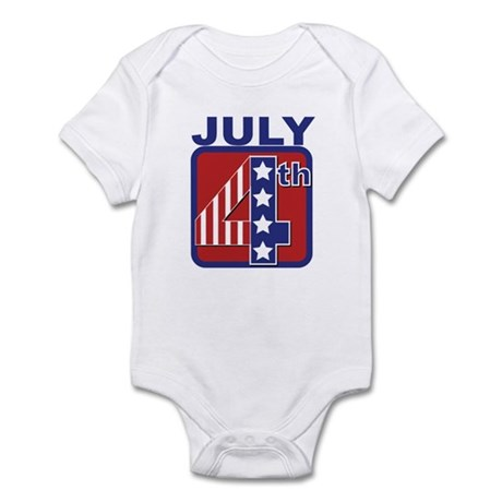 July 4th Infant Bodysuit