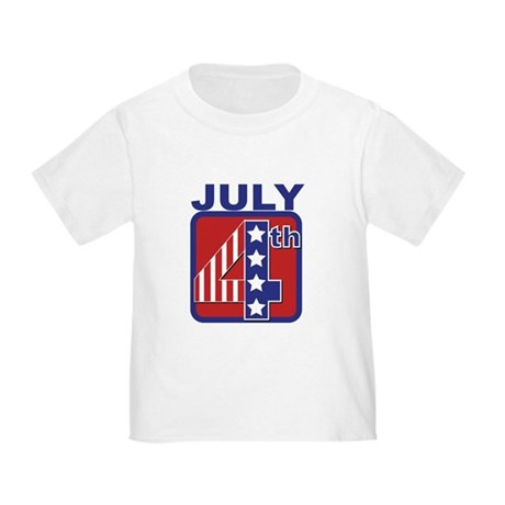 July 4th Toddler T-Shirt