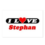 I Love Stephan Postcards (Package of 8)