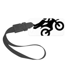 Motocross-A Luggage Tag