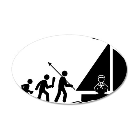 Sailing-C 35x21 Oval Wall Decal