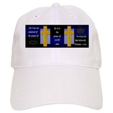 Not Ashamed - 8.31x3 - Blue and Black - 2 Cros Baseball Cap