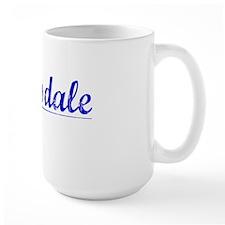 Barksdale, Blue, Aged Mug