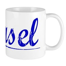 Basel, Blue, Aged Mug