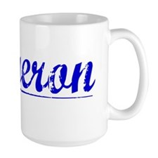 Bergeron, Blue, Aged Mug