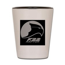 F-22 Raptor Shot Glass