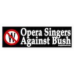 Opera Singers Against Bush (sticker)