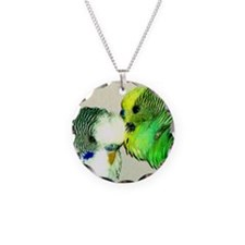 Parakeet whisperer, green Necklace