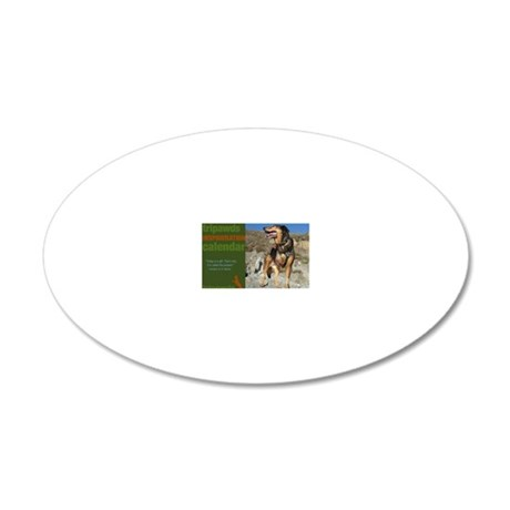 Tripawds Inspawration 20x12 Oval Wall Decal