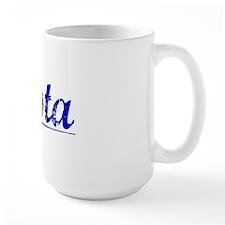 Costa, Blue, Aged Mug