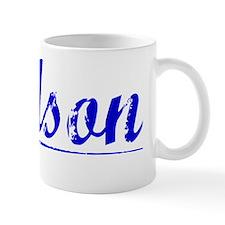 Dodson, Blue, Aged Mug