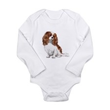 Cavalier (blenheim2) Long Sleeve Infant Bodysuit
