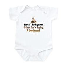 Doodleman Pinscher Dog Infant Bodysuit