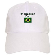 #1 Brazilian Dad Baseball Cap