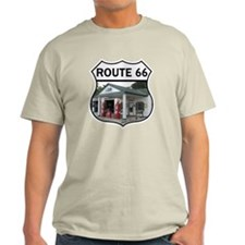 Route 66 - Amblers Texaco Gas Statio T-Shirt