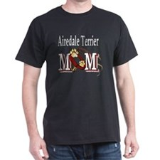 Airedale Terrier Mom T-Shirt