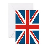 British Flag Greeting Cards (Pk of 10)