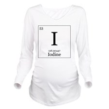 Elements - 53 Iodine Long Sleeve Maternity T-Shirt