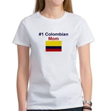 #1 Colombian Mom Tee