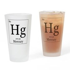 Elements - 80 Mercury Drinking Glass